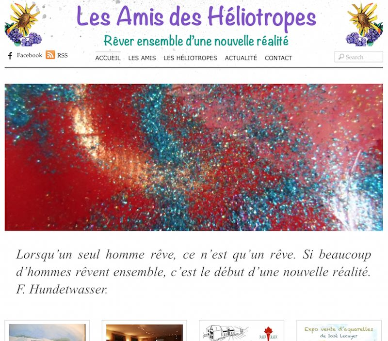 Sites des Amis des Héliotropes