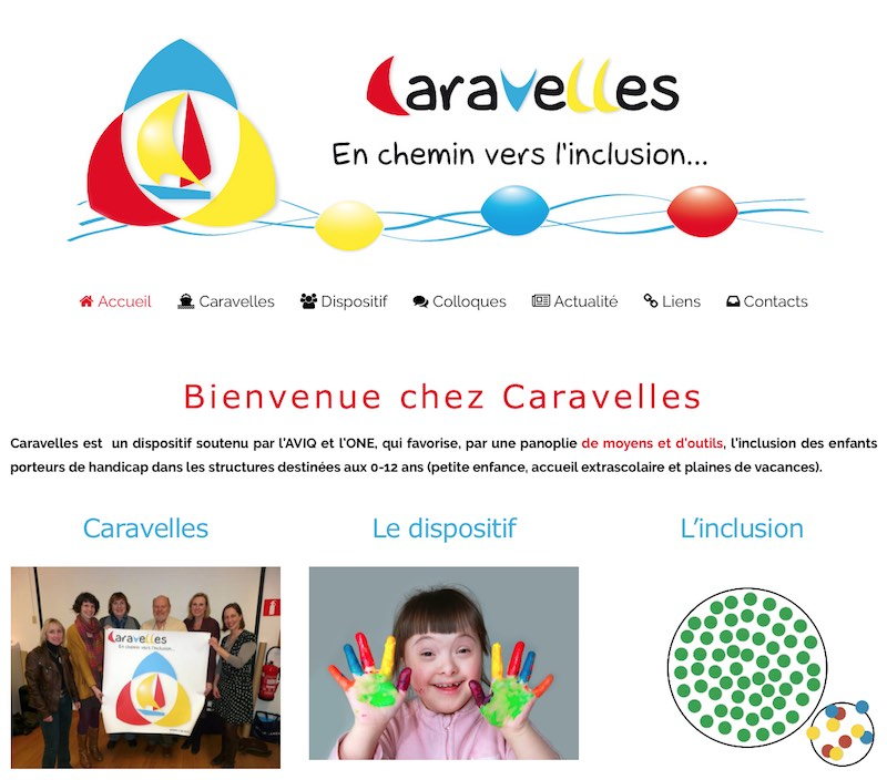 Site de Caravelles