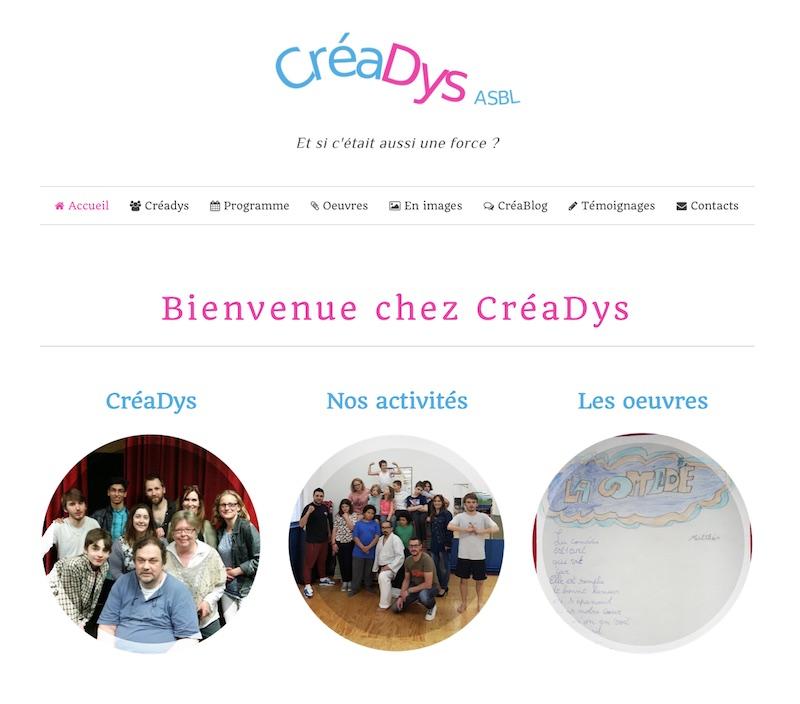 Site de CréaDys