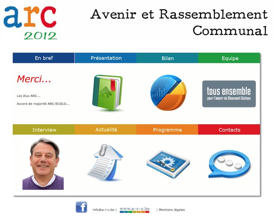 Site de ARC Chaumont-Gistoux