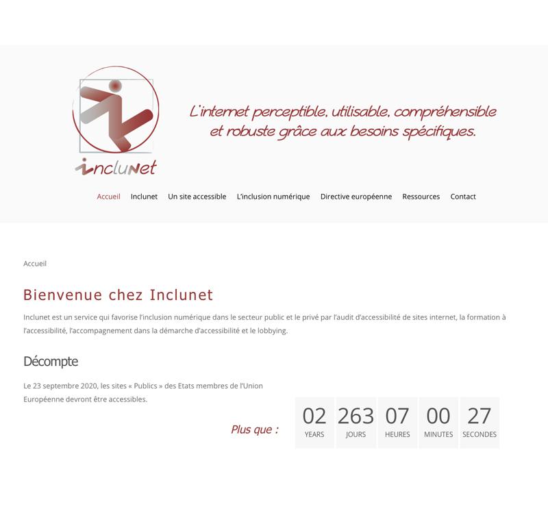Site d'Inclunet