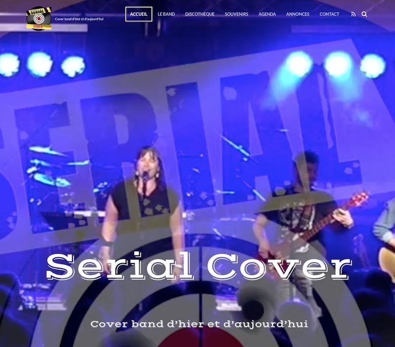 Site de Serial Cover