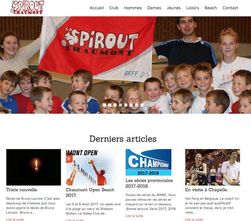 Site du Volley Spirout